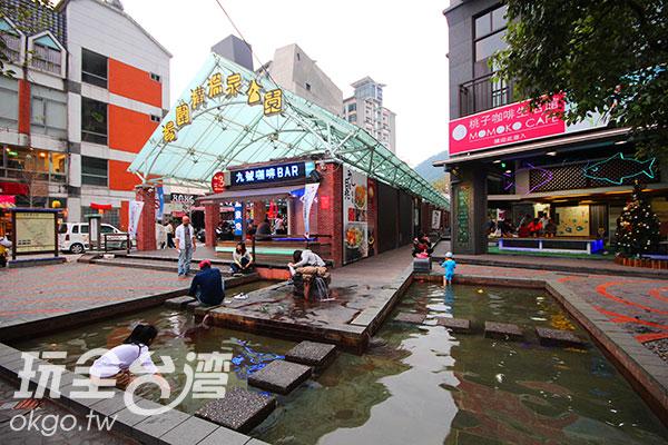 快點來燒水溝泡腳幸福一下~/玩全台灣旅遊網攝
