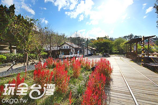 站內設施景觀經改造後,呈現有別以往的風景/玩全台灣旅遊網攝