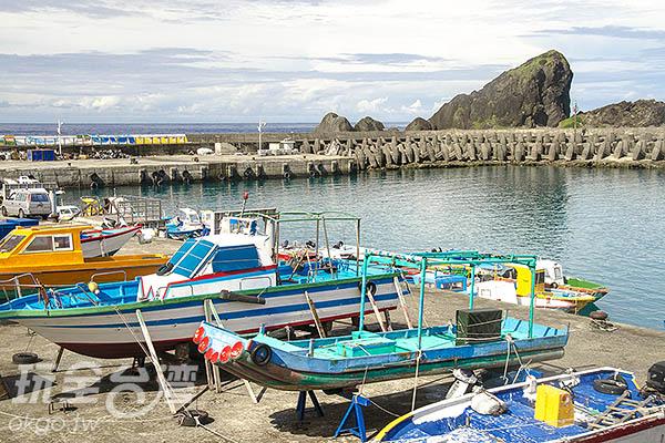 開元漁港主要為漁業與交通共用漁港/玩全台灣旅遊網特約記者陳健安攝