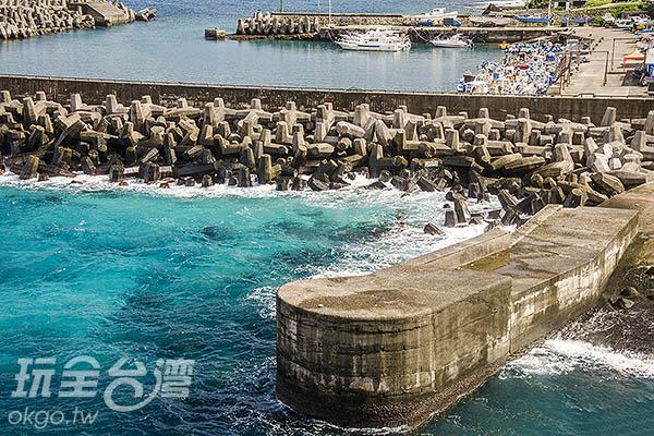 鄰近開元舊港僅存的曳船道/玩全台灣旅遊網特約記者陳健安攝