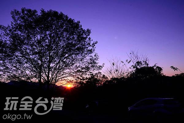 秋天便是賞楓的最好季節/玩全台灣旅遊網特約記者陳楊昇攝