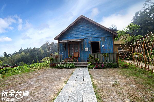 這棟小木屋絕對是許多人心中想要擁有的夢幻逸品/玩全台灣旅遊網攝