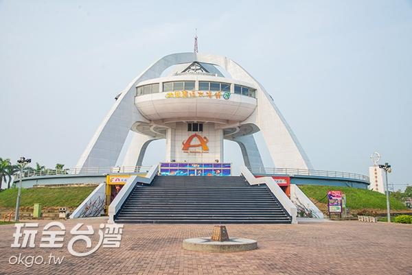 全球第十座北回歸線標誌即在嘉義/玩全台灣旅遊網特約記者張庭毓攝