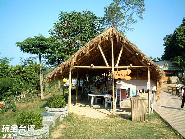 農場內也有可以讓大人小孩一同玩耍的互動體驗區/玩全台灣旅遊網攝