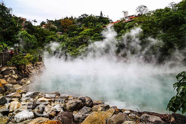熱呼呼的溫泉就是秋天的最佳代表!/玩全台灣旅遊網特約記者57魔法Ling 攝