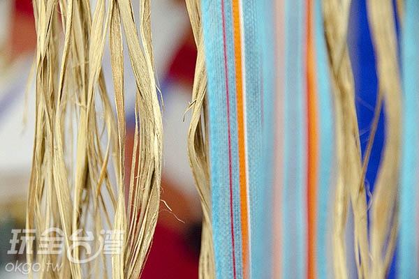 黃麻纖維能100%還原、分解,環保緞帶廣受國外好評/玩全台灣旅遊網特約記者陳健安攝
