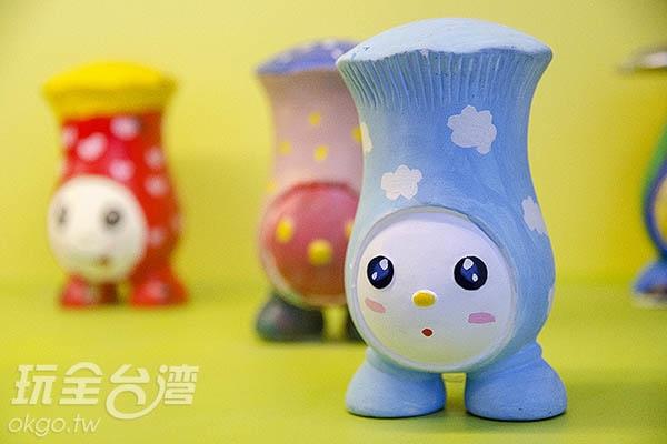 另外也有彩繪香菇DIY/玩全台灣旅遊網特約記者陳健安攝