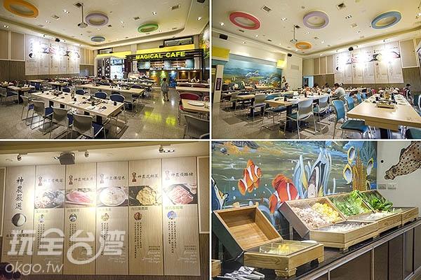 別忘了來神農餐廳,品嘗多種神農級食材/玩全台灣旅遊網特約記者陳健安攝