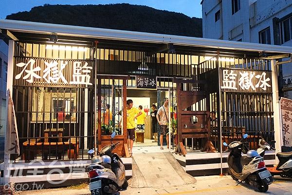 空間寬敞明亮,黑白色系交錯,設計出如斷頭台、刑房這類場景,好殺相機底片阿。/玩全台灣旅遊網特約記者阿辰攝