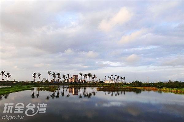 仁和湖有著令人著迷的魅力/玩全台灣旅遊網特約記者鍾少紋攝
