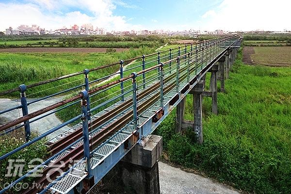 百年復興鐵橋/玩全台灣旅遊網特約記者蔡忻容攝