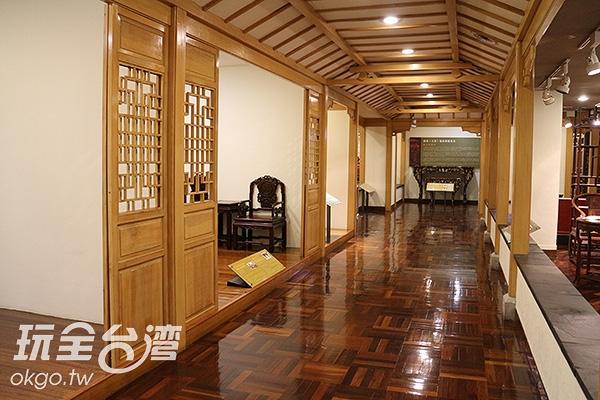 博物館即位在桃園縣文化中心的地下室/玩全台灣旅遊網特約記者黃琮瑜攝