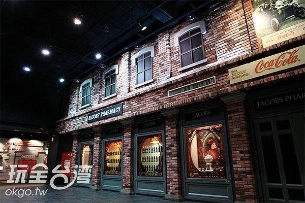 博物館裡頭佈置充滿濃濃異國風情/玩全台灣旅遊網特約記者A-he攝