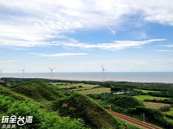 不論是日出還是日落都是這裡的著名經典景色/玩全台灣旅遊網攝