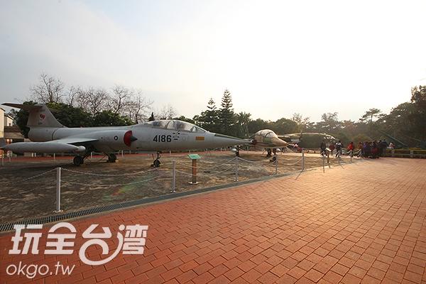 各式戰機在這裡展出/玩全台灣旅遊網攝
