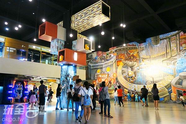 工廠更請專業的彩繪師來將方塊酥的生產過程Q版呈現!/玩全台灣旅遊網攝