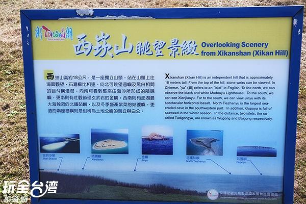 想要要看見太陽沉進海底游泳的景色嗎?那就不能錯過西崁山!!/玩全台灣旅遊網攝