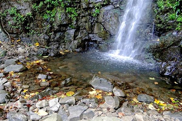 大自然的芬多精加上瀑布所釋放出來的負離子,讓我們一起做個最天然的SPA吧!/玩全台灣旅遊網特約記者吳明倫攝