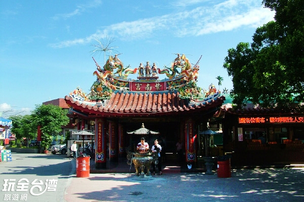 位在南投竹山的紫南宮是許多人求財的信仰之地/玩全台灣旅遊網攝
