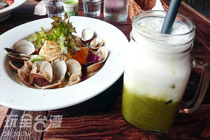料多味美的餐點/玩全台灣旅遊網特約記者蔡忻容攝