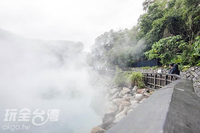 幾乎就快到看不到水面了/玩全台灣旅遊網特約記者陳健安攝