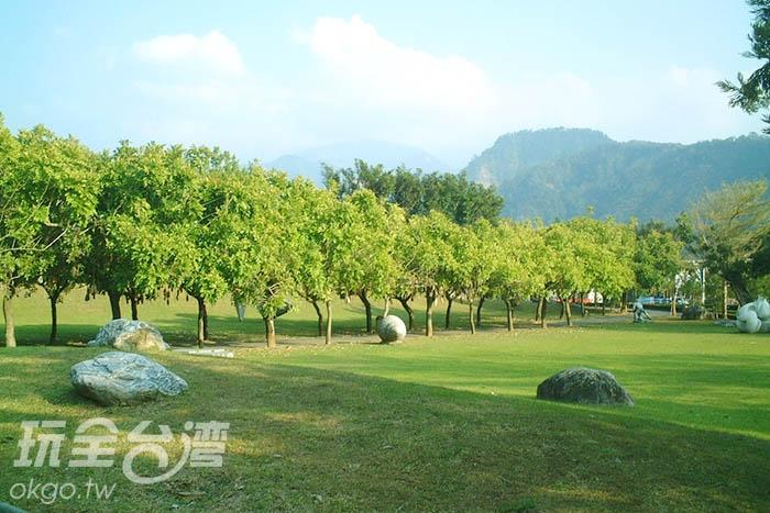 泰雅渡假村內占地遼闊綠意盎然/玩全台灣旅遊網攝