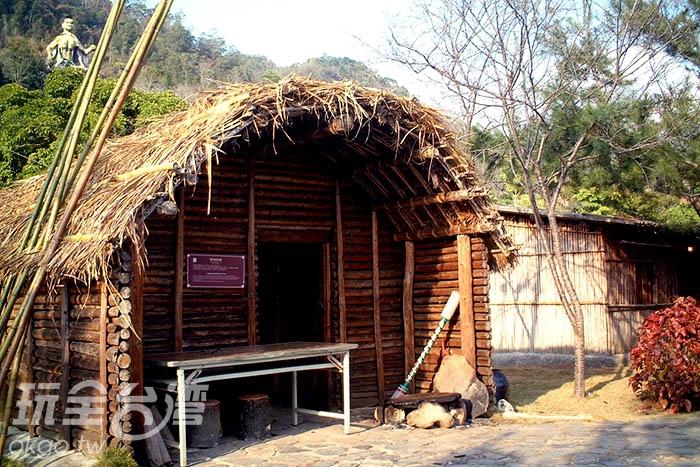 泰雅族傳統房屋/玩全台灣旅遊網攝