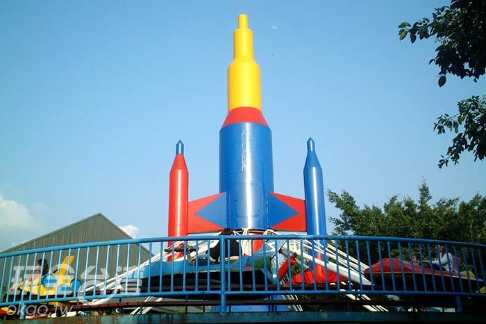 當然還有小朋友最愛的遊樂設施拉!/玩全台灣旅遊網攝