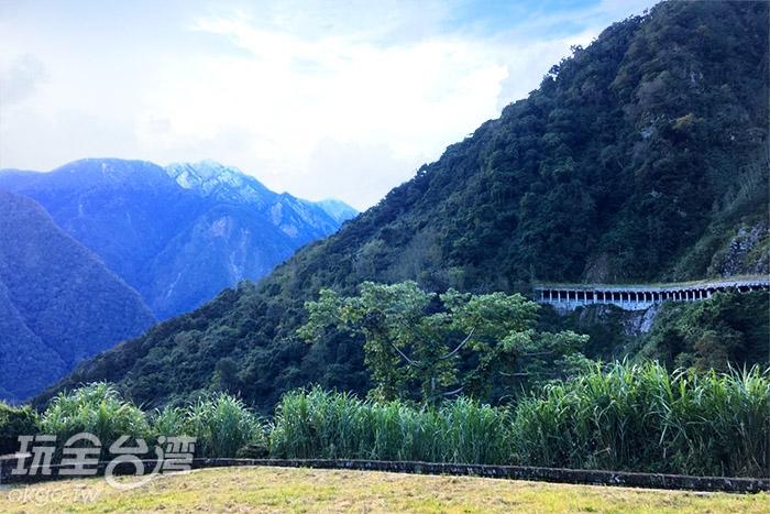 看到了嗎?猜猜玉山主峰在哪?!/玩全台灣旅遊網小艾攝