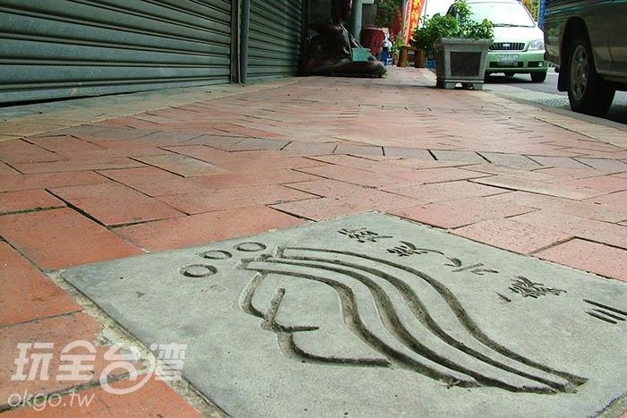 三義鄉公所也為前來的旅人重新整修街道/玩全台灣旅遊網攝