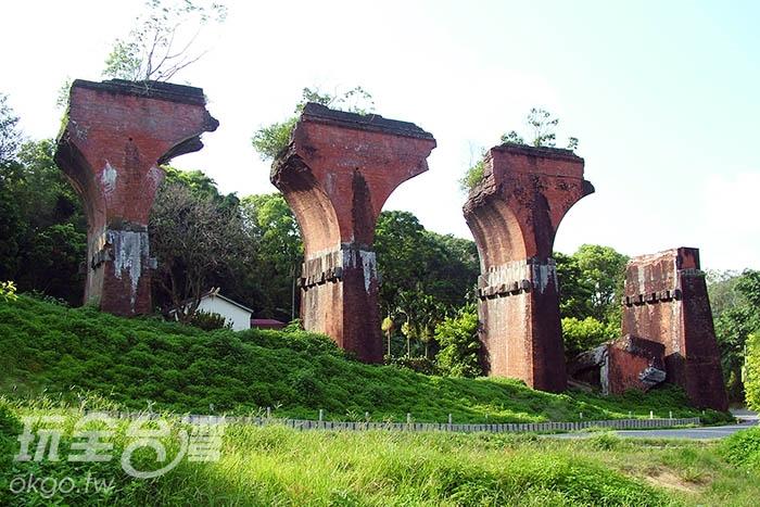 斷橋堪稱是藝術品,更是IG熱門打卡地點/玩全台灣旅遊網攝