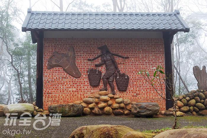 挑炭古道霧氣瀰漫,讓空間更顯仙氣凜然/玩全台灣旅遊網吳明倫攝