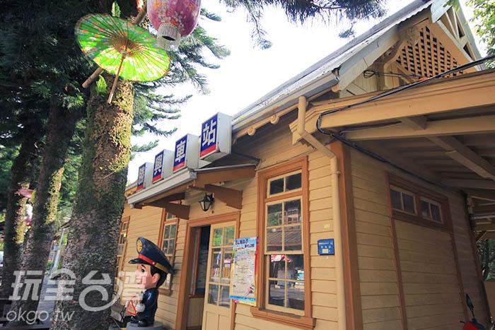 勝興車站是許多人出遊或情侶約會最喜歡來的地方/玩全台灣旅遊網攝