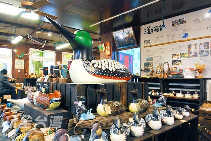 丫箱寶內有大大小小的可愛鴨子藝術品~/玩全台灣旅遊網吳明倫攝
