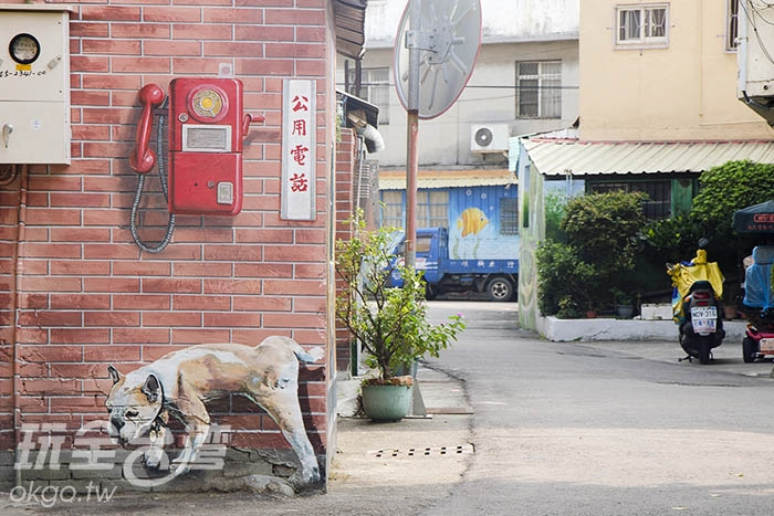 彷彿想起小時候想打通電話的景致/玩全台灣旅遊網特約記者陳健安攝