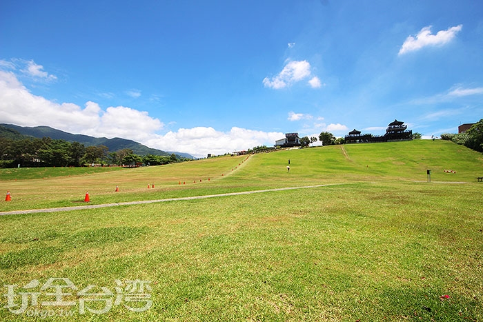 鹿野高台是熱氣球嘉年華的舉辦地/玩全台灣旅遊網攝