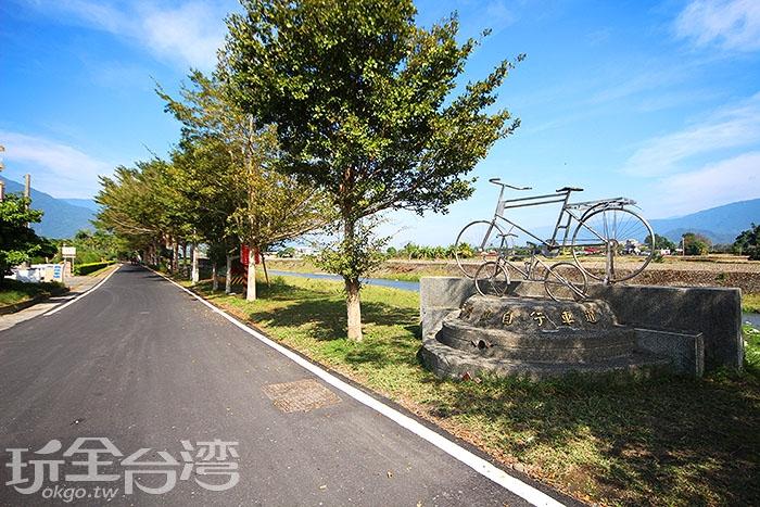 除了幾處高坡外,其他皆平坦好騎,適合觀光/玩全台灣旅遊網攝