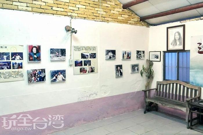 桃山村清泉262號-簡陋的夢屋內盡是當代華文女作家三毛的足跡。/玩全台灣旅遊網特約記者smallting攝