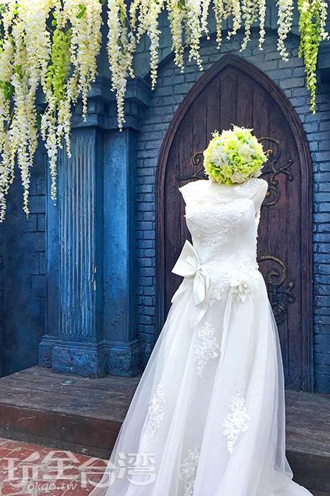 美麗的婚紗是許多人最夢幻的夢想/玩全台灣旅遊網一隻魚攝