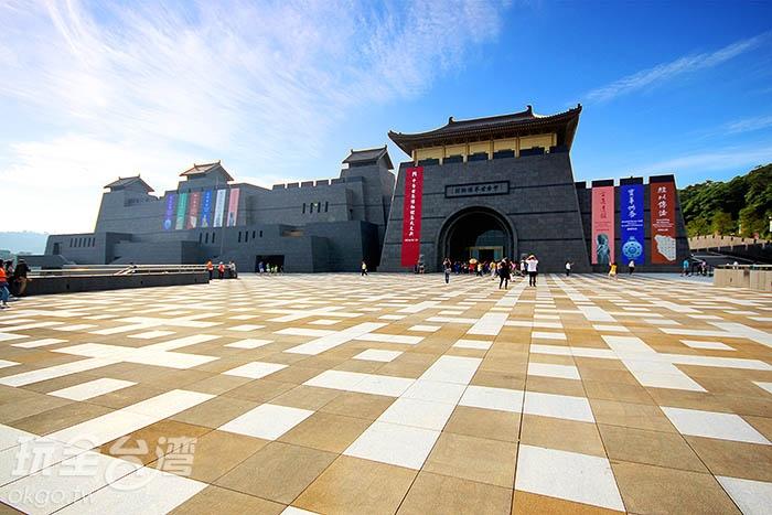 不僅是廟宇,更是結合藝術,充蠻禪意的靜修之地/玩全台灣旅遊網攝