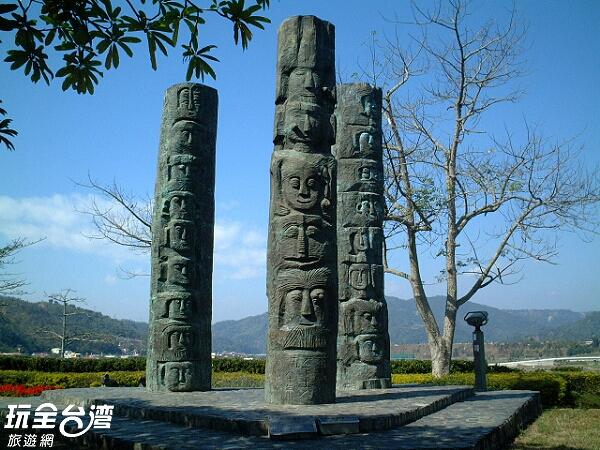 充滿藝術作品的村內到處都能是拍照的最佳選擇/玩全台灣旅遊網攝