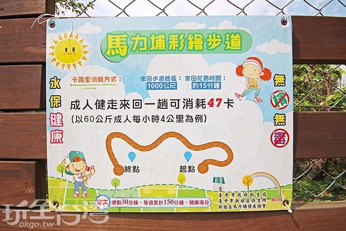 路邊有新社鄉公所為你貼心規劃得瘦身表!/玩全台灣旅遊網攝