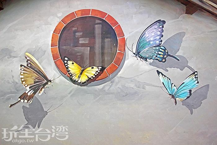 蝴蝶悄然入夢,留下一抹讓你難忘的美麗倩影/玩全台灣旅遊網攝