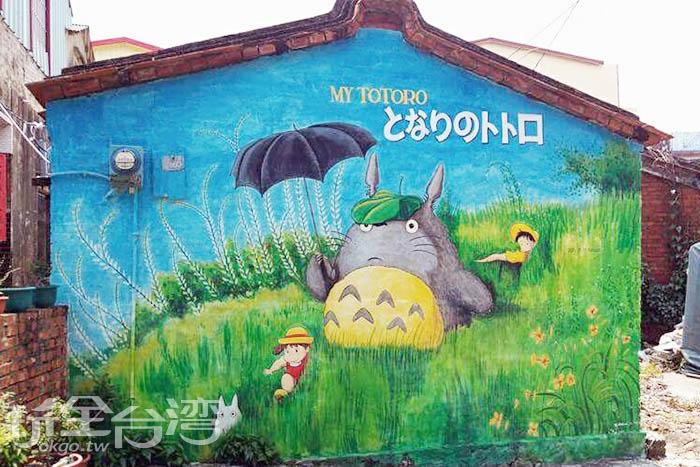 小月和小梅跟著龍貓一同展開在森林裡的冒險。/玩全台灣旅遊網特約記者攝