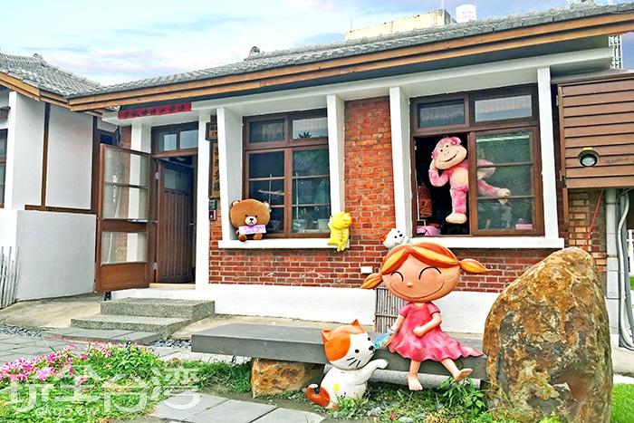 每間小房子裡面都有不同性格的藝術家,大家都為自己的小窩打造出獨一無二的風格/玩全台灣旅遊網特約記者一隻魚攝