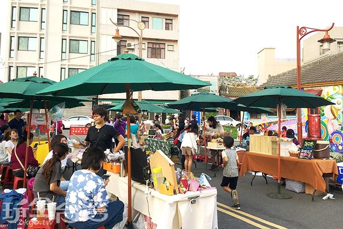 村內也會不定期的舉辦藝文活動與市集/玩全台灣旅遊網特約記者一隻魚攝