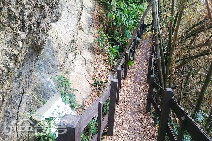猴子坪,聽說是猴子最喜歡出沒的地方而取名。/玩全台灣旅遊網特約記者蔡忻容攝