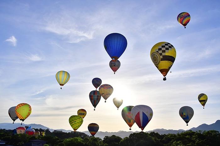 氣球高飛/台灣熱氣球嘉年華粉絲頁提供