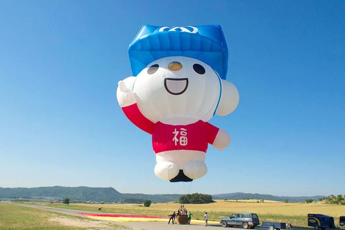 臺灣的福利熊可愛得讓人融化/台灣熱氣球嘉年華粉絲頁提供