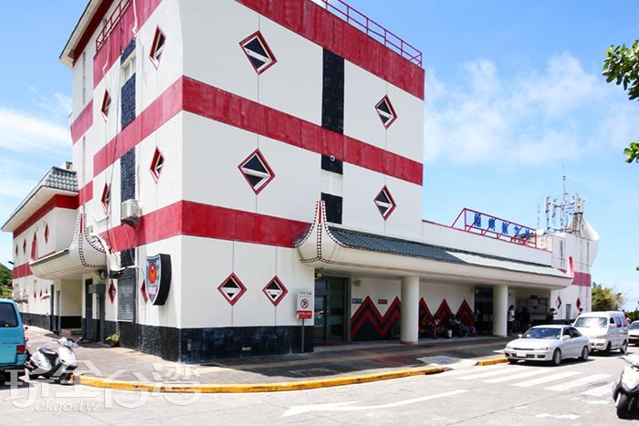 蘭嶼機場也充滿達悟族的風格唷!/玩全台灣旅遊網攝